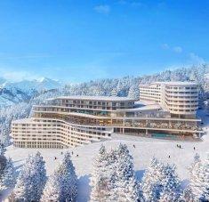 חופשות סקי  בקלאב מד לז ארקס פנורמה